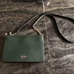 Small Kate Spade Green Shoulder/Cross body Bag